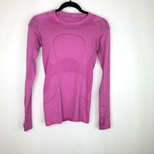 Lululemon Swiftly Long Sleeve Shirt Thumbholes 4